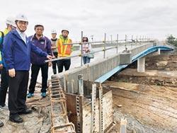 金山磺溪橋重建 5月底通車