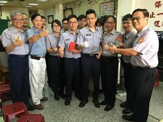 台南永康警開槍擊斃通緝犯 出院首合體:繼續做該做的事
