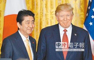 川安峰會談貿易 盼美重回TPP
