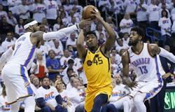 NBA》就是不給逆轉!爵士爆冷客場擊退雷霆