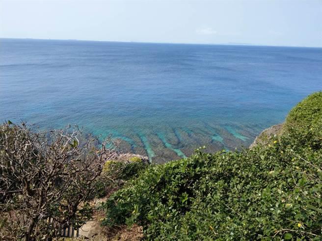 小琉球的美麗海洋。(中華電信基金會提供)