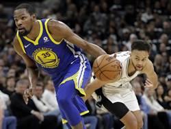 NBA》馬刺哀兵出擊無效 勇士客場狂勝聽牌