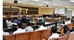 橋頭地院首度上演國民參與刑事審判案件模擬法庭