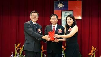 林青萍就任文化局長 涂醒哲執政3年半補齊主管缺