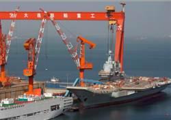 陸3發渤海禁航令 首艘自製航母可望海試
