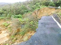 基隆德安產業道路 拖10個月仍未修復