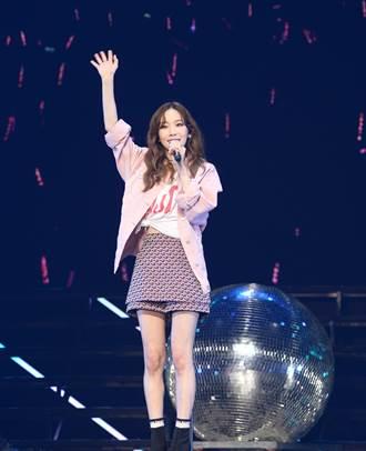 太妍開場飆海豚音 甜喊:「去年來台灣的幸福還記憶猶新!」