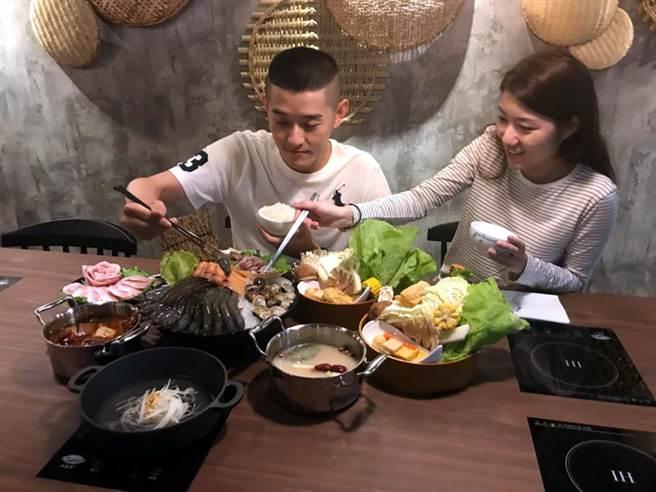 「這一小鍋」鎖定小資族群。圖文/陳惠珍