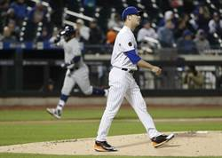 MLB》被拔先發轉牛棚 大都會哈維不爽
