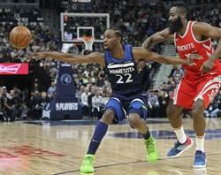NBA》別小看老八!灰狼咬翻火箭摘首勝