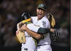 MLB》無安打鎖紅襪 運動家左投:感覺很不真實