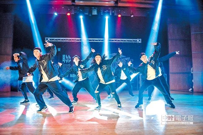 台灣每所大學幾乎都有熱舞社。圖為聖約翰科技大學熱舞社表演。(林大鈞提供)