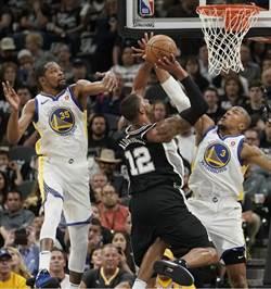 NBA》艾卓吉與吉諾比利聯手 馬刺克勇士免遭橫掃