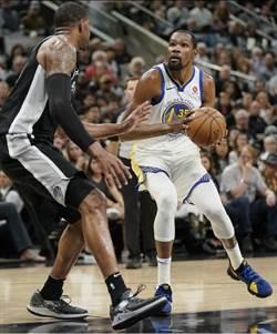 NBA》找不到投籃準星 勇士季後賽首輪9連勝止步