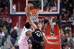 NBA》明星雙衛58分 巫師逆斬暴龍系列賽戰平
