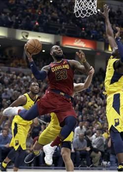 NBA》詹皇力挽狂瀾 騎士馴服溜馬系列賽2平