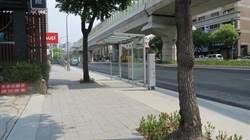 中市文心路配合捷運施工 分段進行人行道與路平改善工程