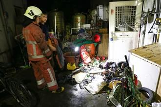 資源回收堆門口起火 住戶怨:講都講不聽