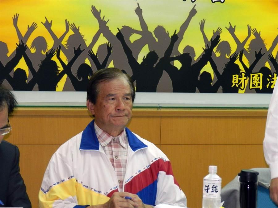 前国防部长蔡明宪表示,蔡总统可提访美来拚外交。(林永富摄)