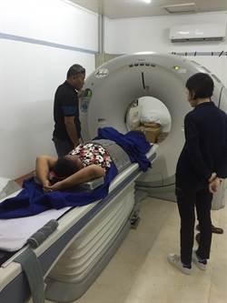 超音波難判病情 馬偕送電腦斷層掃描儀至吉里巴斯