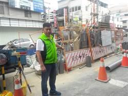 台中市施工完成路面卻未刨封  美群路居民怨