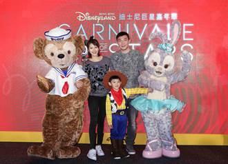 嚴立婷帶兒子Willson分享香港迪士尼樂園瘋遊體驗