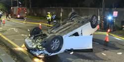 5青少年無照駕車!仰德大道下山衝撞5傷