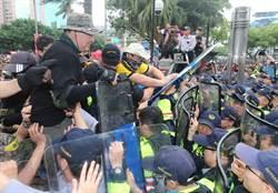 八百壯士衝立院  警政署重申:暴力脫序絕對嚴懲