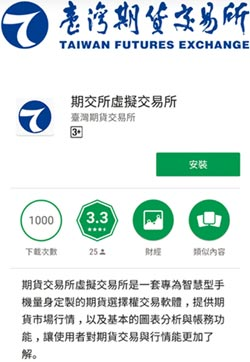 期貨虛擬交易所 手機可模擬交易