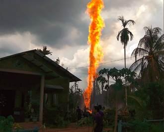 影》油井大火!印尼亞齊省15死40傷