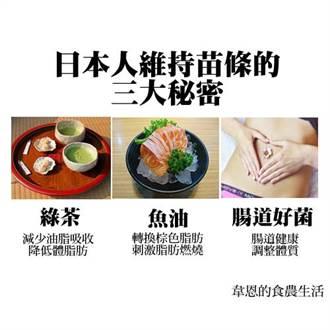 打造瘦子國家 日本人維持苗條的3大秘密
