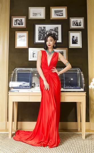 鍾瑶上億蕭邦珠寶上身「好想走紅毯!」