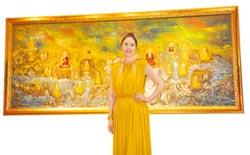 胡娜油畫 溫布頓博物館收藏