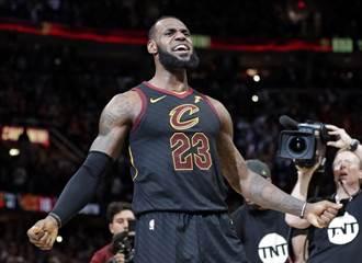NBA》詹皇超大號三分球絕殺 騎士聽牌了!