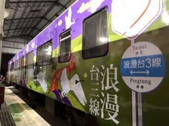 伴遊客家桐花季 客委會推彩繪列車