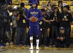 NBA》首次參加全部訓練 柯瑞周日復出穩了?
