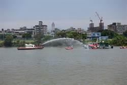 2百車船齊發 千人演練救災防汛