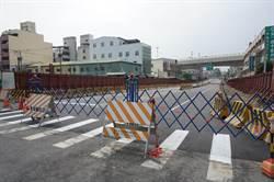 圓環東地下道主線5/1通車 慢車道工程尚須與攤販協調