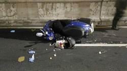 三貼載妻兒返家自摔 騎士遭後車輾頭亡