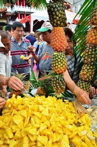品嚐台南時令好滋味 鳳梨竹筍西瓜端上桌秒殺