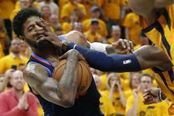 NBA》死不認錯!裁判報告認定喬治沒被犯規