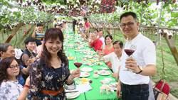 埔心葡萄樹下饗宴 美酒美食打響葡萄產季遊產地