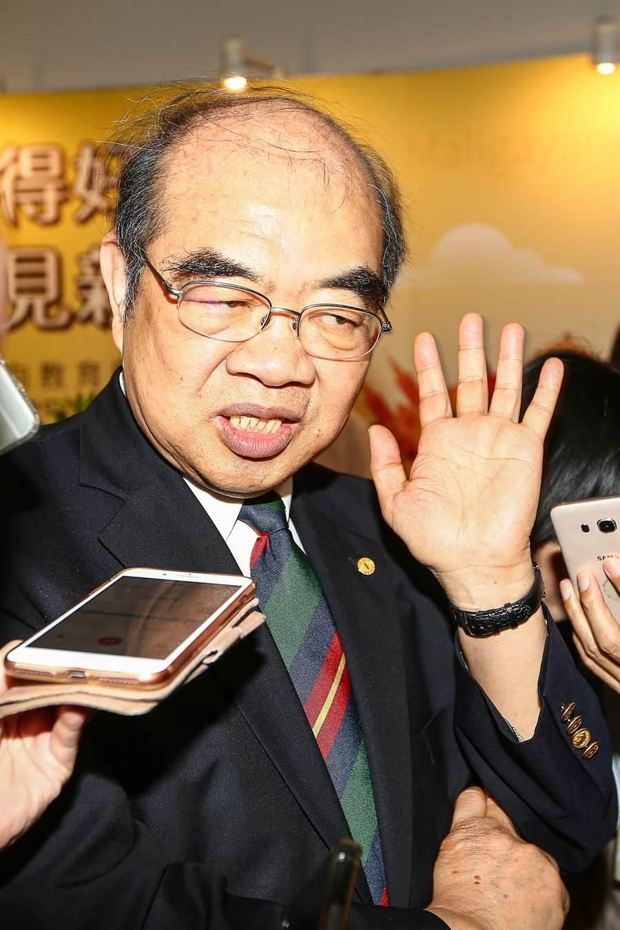 教育部長吳茂昆。(圖/本報資料照片)