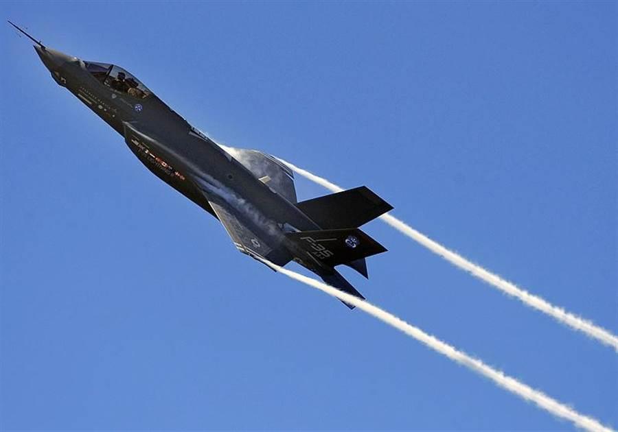 一架F-35戰機。(圖/Wiki Media)