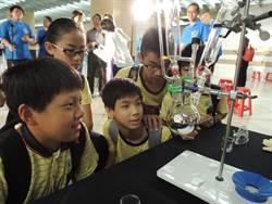 科普環島列車啟程 化水成銀讓學童驚呼