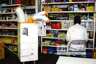 SUIDEN移動式冷氣 提升廠房工作效率