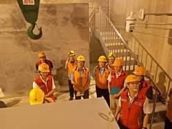梅雨季將報到 曾文水庫防淤隧道實地演練