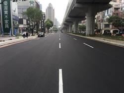 中市文心路首段路平完工  公益路至大墩七街展新貌