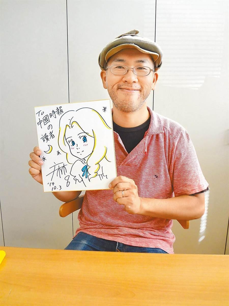 日本動畫導演米林宏昌,他被譽為宮崎駿接班人之一。(本報系資料照)