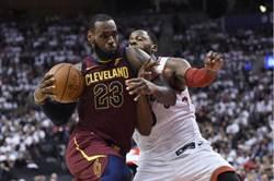 NBA》詹姆斯第21次大三元 率領騎士逆襲暴龍